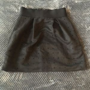 Club Monaco Black Mini Skirt Size 2